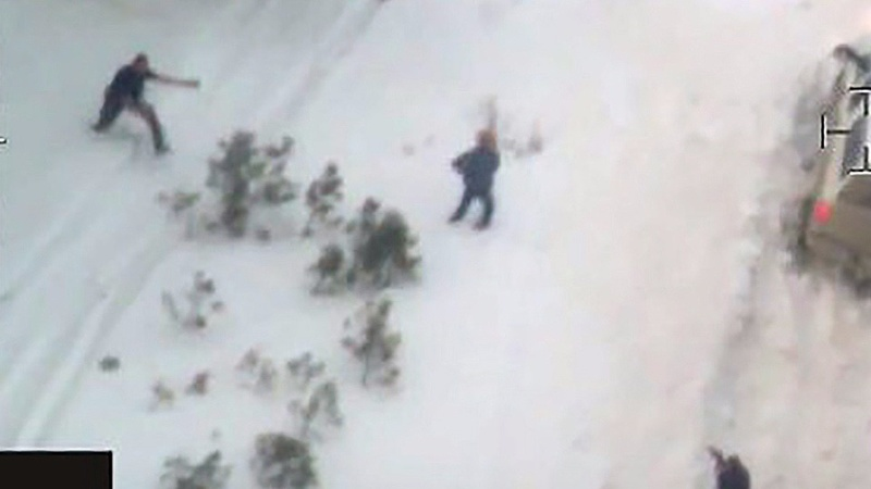 FBI releases Oregon shooting video