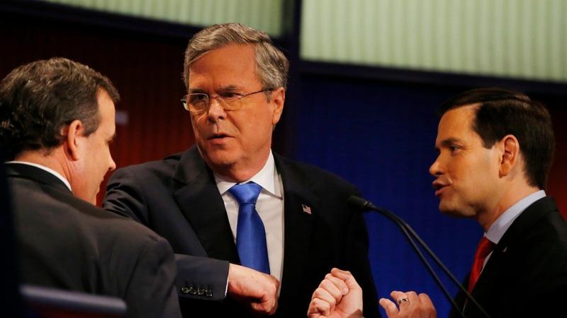 Jeb Bush shines in Trump's debate no-show