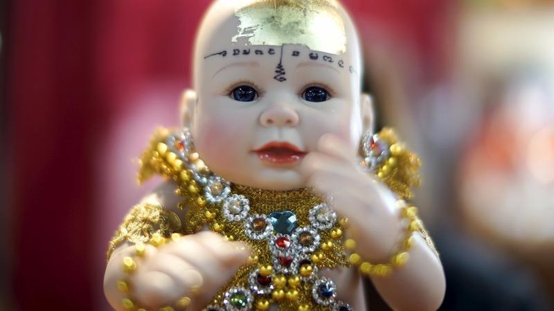Thailand's trendy 'good luck' dolls