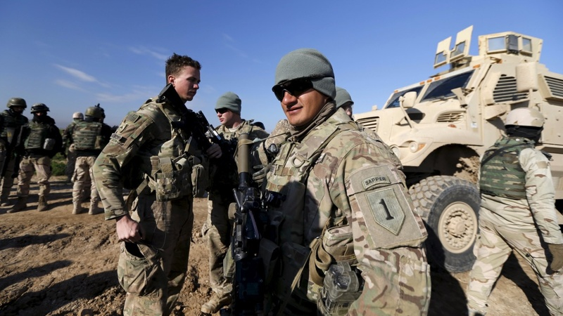 Coalition prepare Iraqi army to retake Mosul