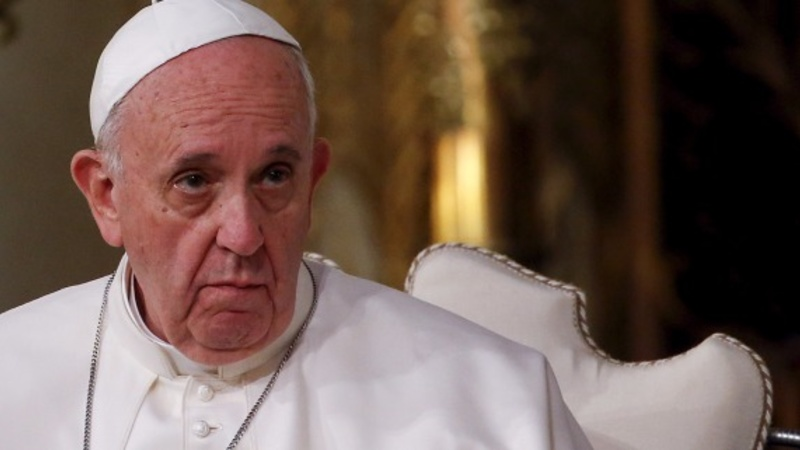 VERBATIM: Pope meets Leonardo DiCaprio
