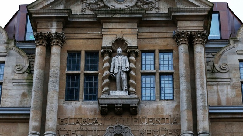 Oxford keeps statue of colonialist Rhodes