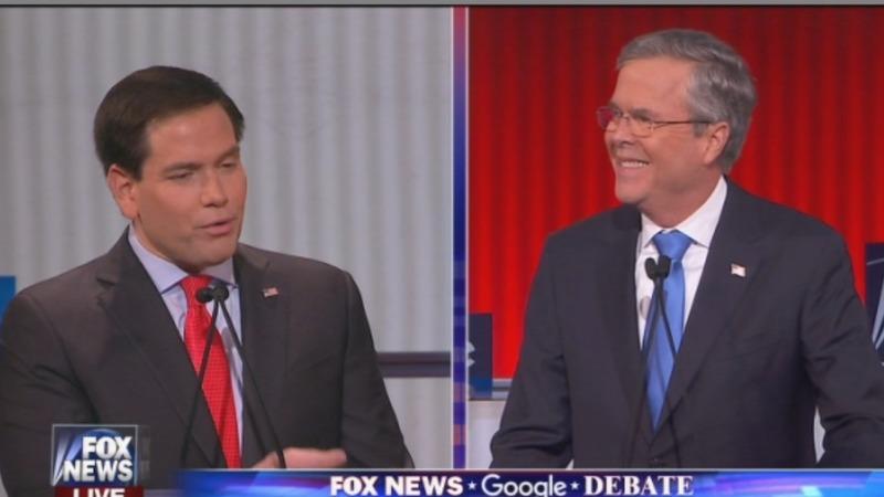 Rubio, Bush ride debate boost in Iowa