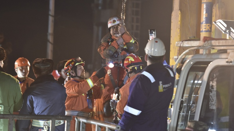 Four Chinese miners rescued after 36 days