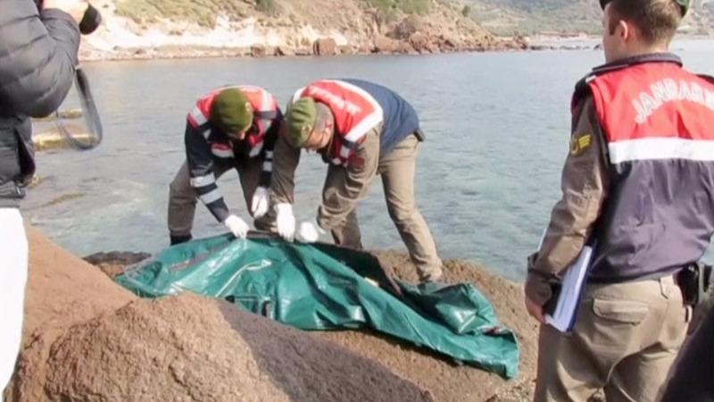 Migrants drown as Syria peace talks begin