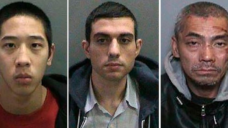 All three California fugitives in custody