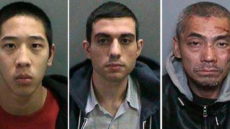 All three California fugitives in custody