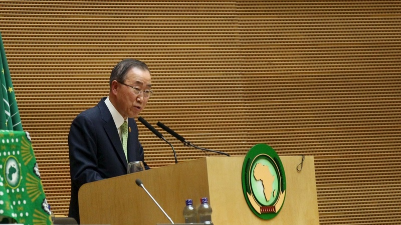 VERBATIM: Ban Ki Moon slams African leaders