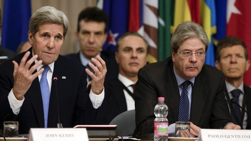 Nations gather in Rome to discuss war on IS