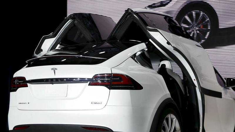 Tesla stock drops as Model X loses luster