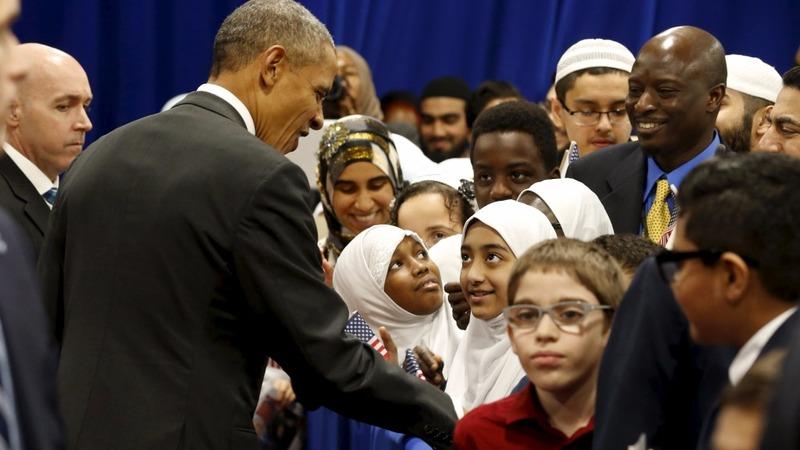 VERBATIM: Obama makes first U.S. mosque visit