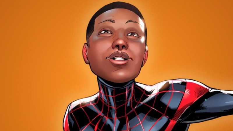 First black Spidey shows a more diverse era