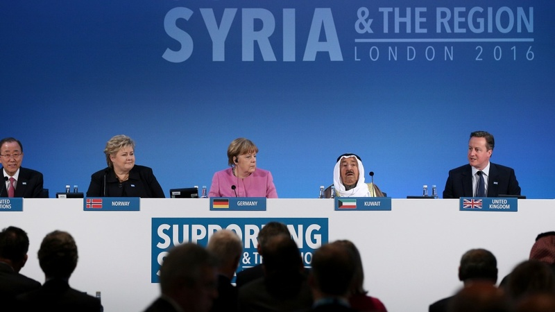 Syria donor conference raises $11 bln