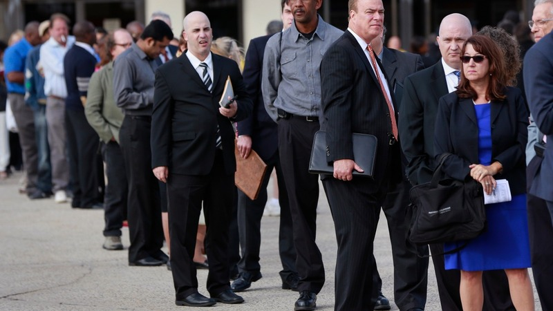 Unemployment drops to 8-year low, below 5 pct