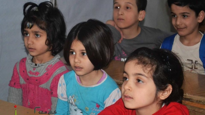 Syria's secret schools face threat of bombing