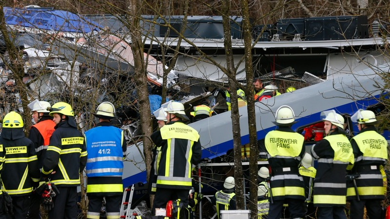Several dead as German trains collide head-on