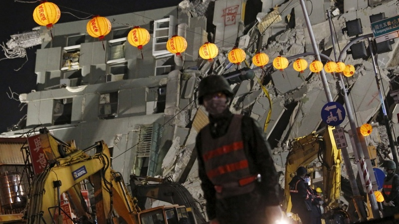 Taiwan developer arrested over quake collapse