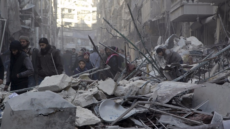 UN fears for Syrians if troops encircle Aleppo