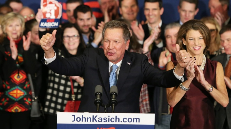 VERBATIM: Kasich takes surprise second in NH