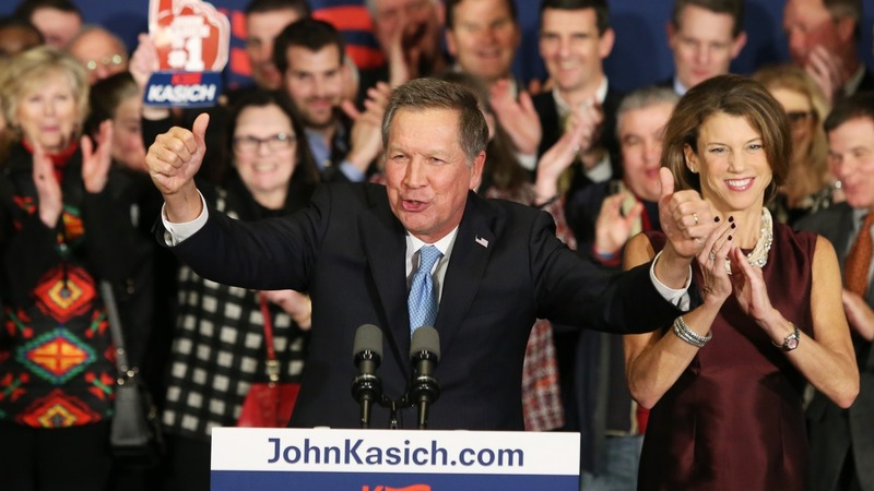 Kasich savors his 2016 moment