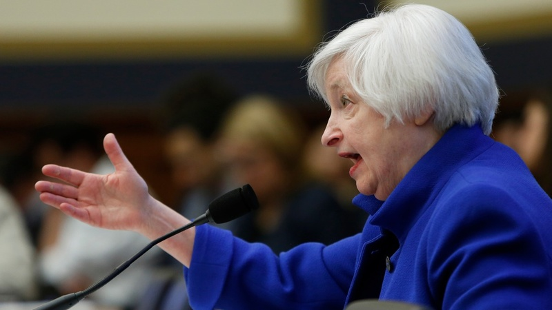 Yellen hints at gradual rate hikes