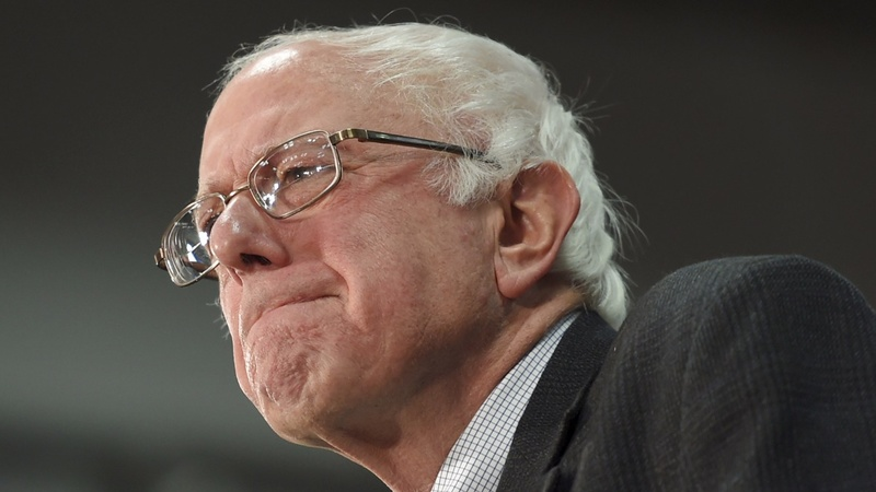 Sanders widens net after blowout win
