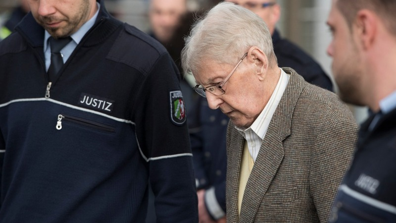 Auschwitz guard, 94, stands trial in Germany