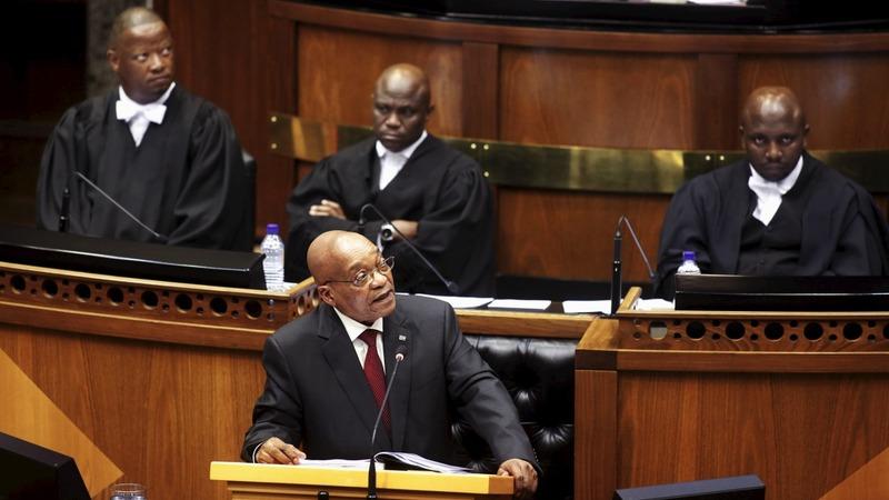 Opposition jeer at President Zuma's address