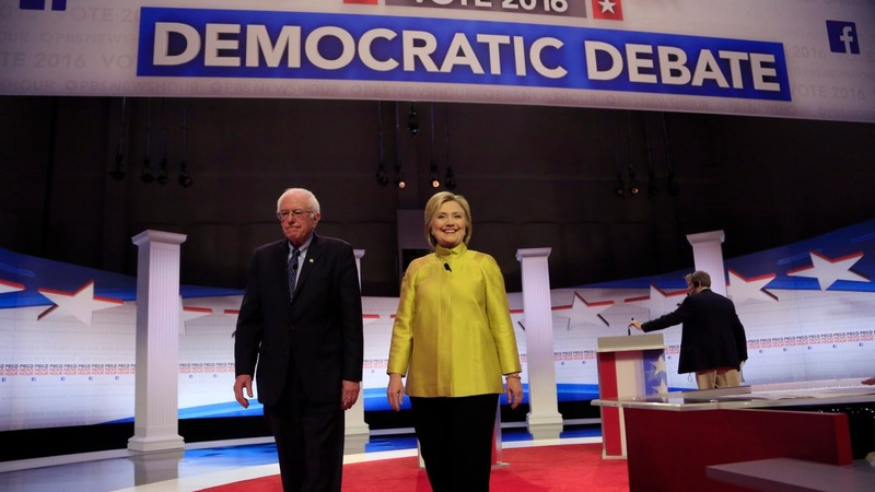 Clinton and Sanders clash in Milwaukee