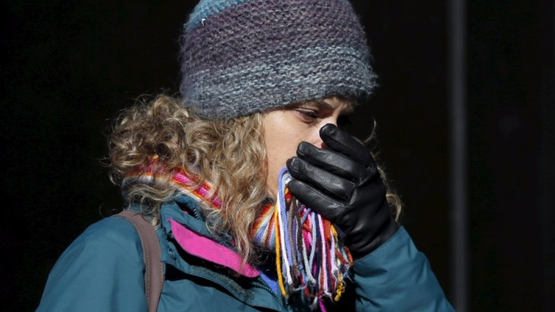 Bitter cold hits U.S. northeast