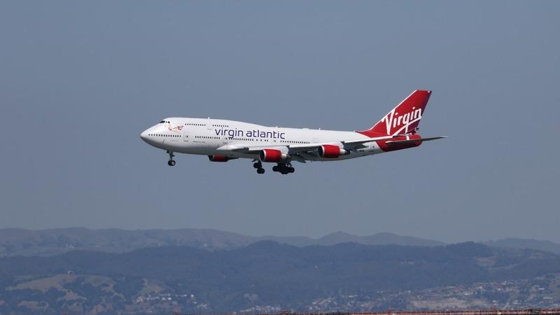 Laser beam forces Virgin flight back to UK