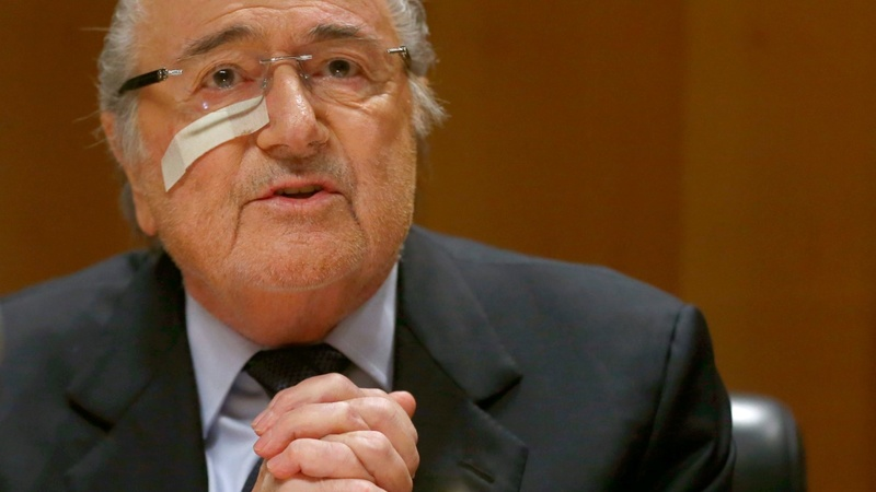 Blatter appeals against FIFA eight-year ban
