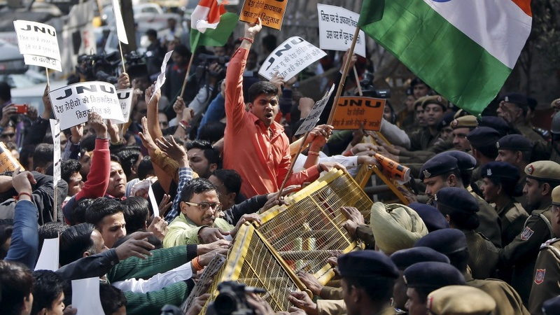 Mass student protests flare up across India