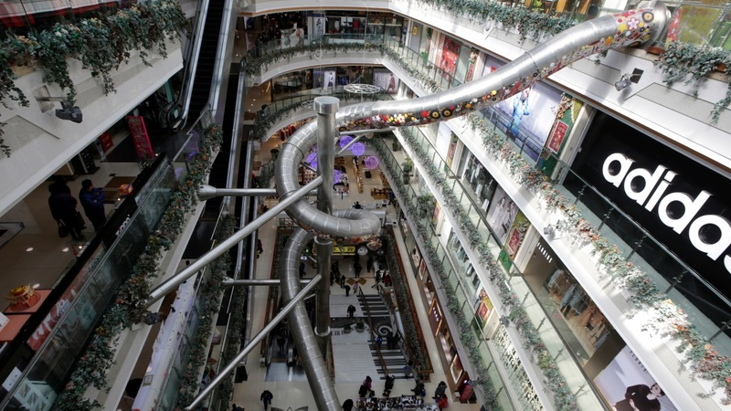 Five-story Shanghai slide sparks safety fears