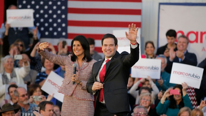 Rubio gets big lift from S. Carolina governor