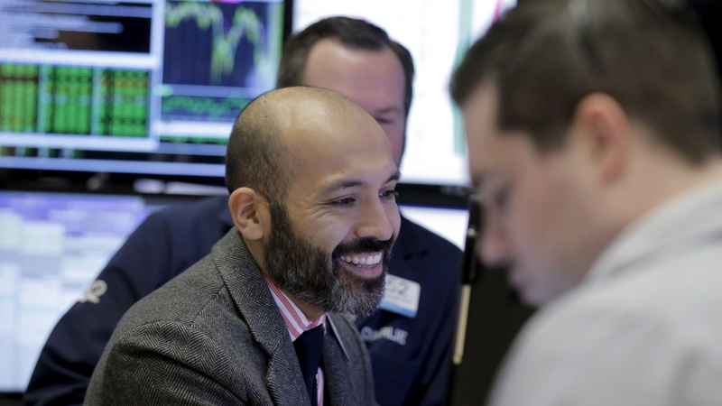 It's all smiles on Wall Street for a third straight day