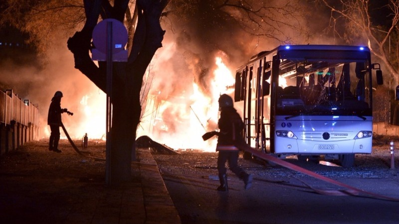 Syrian suspected in Ankara bombing