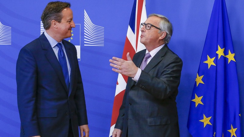 VERBATIM: Juncker confident of UK-EU deal