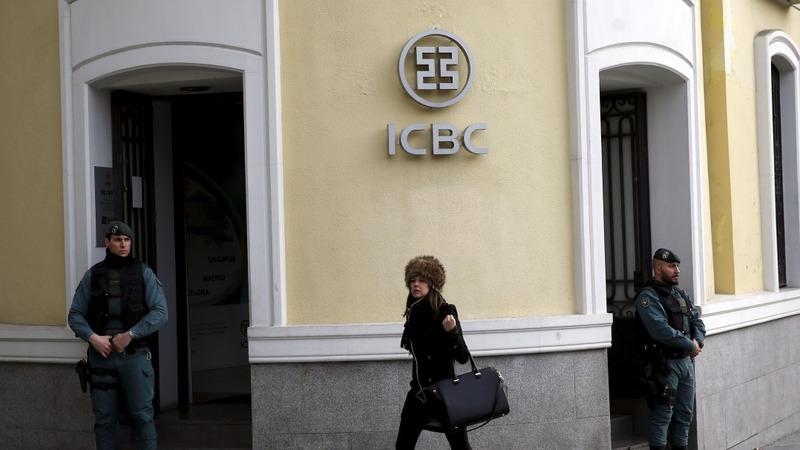 Madrid police raid China bank ICBC, arrest 5