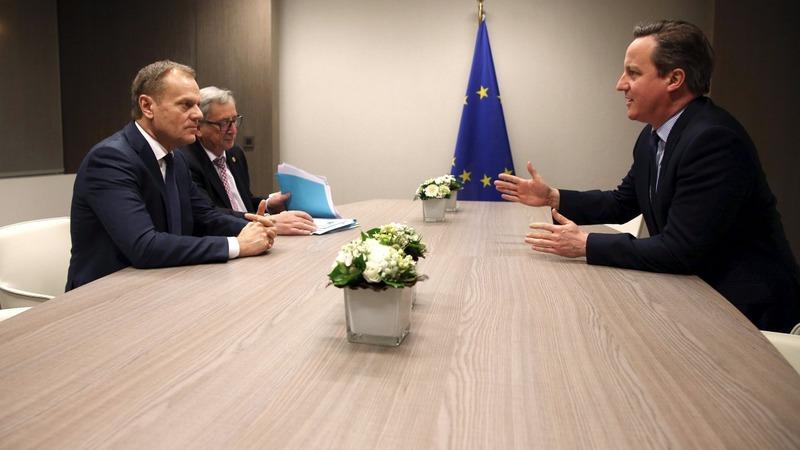 Cameron talks into night as EU digs in heels
