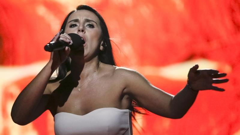 Ukraine uses Eurovision to take aim at Russia