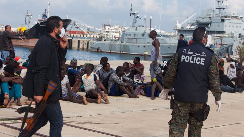 Traffickers and extremists: the Libya gauntlet