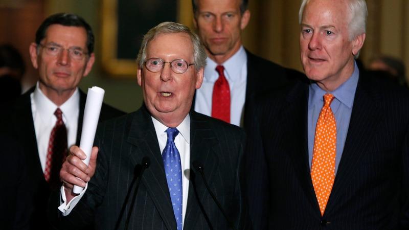 Senate GOP closes ranks on SCOTUS