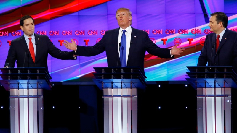 VERBATIM:  Cruz, Rubio tag team Trump on security