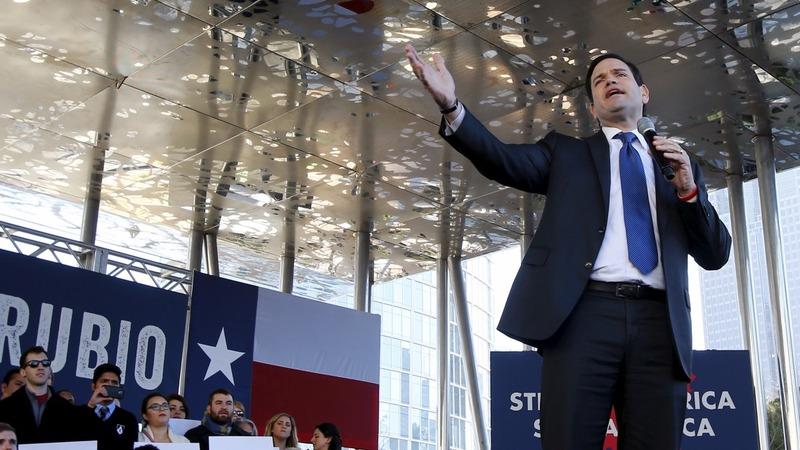 VERBATIM:  Rubio's Trump-trashing tour takes off