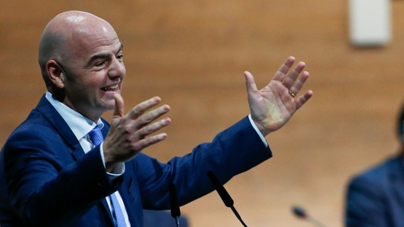 Infantino becomes soccer's most powerful man