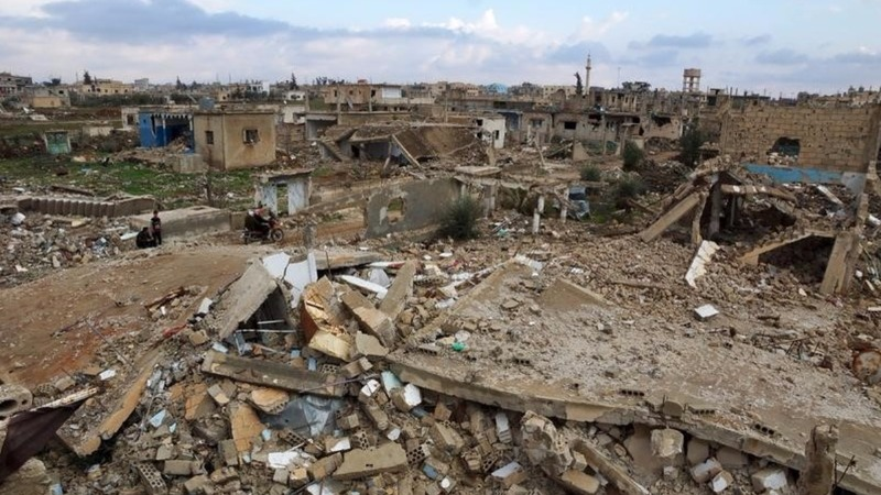 Quiet on frontlines across most of Syria