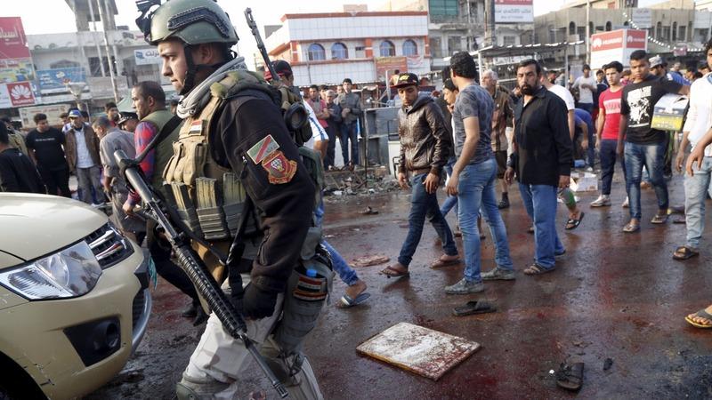 Islamic State claim deadly Baghdad blasts