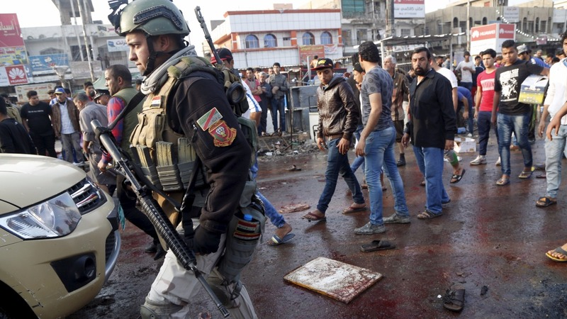 Islamic State claim deadly Baghdad blasts