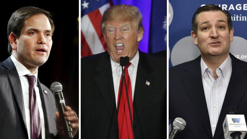 Rivals slam Trump in David Duke uproar